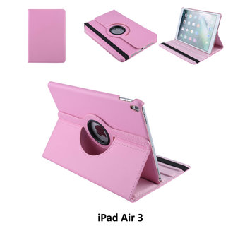 Book case Tablet Apple iPad Air 3 Rotatable Pink for iPad Air 3 2 Viewing Positions