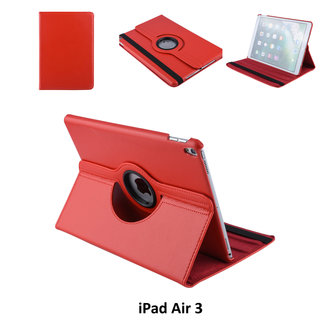 Book case Tablet Apple iPad Air 3 Rotatable Red for iPad Air 3 2 Viewing Positions