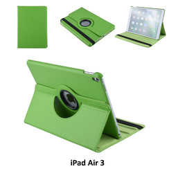 Apple iPad Air 3 Groen Book Case Tablethoes Draaibaar - 2 kijkstanden - Kunstleer