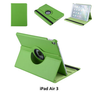 Book case Tablet Apple iPad Air 3 Rotatable Green for iPad Air 3 2 Viewing Positions