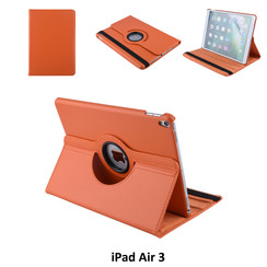 Apple iPad Air 3 Oranje Book Case Tablethoes Draaibaar - 2 kijkstanden - Kunstleer