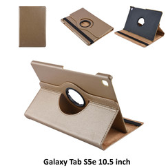 Tablet Housse Samsung Galaxy Tab S5e 10.5 inch Rotatif Or - 2 positions d'observation