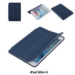 Apple iPad Mini 4 Blauw Book Case Tablethoes Smart case - 2 kijkstanden - Kunstleer