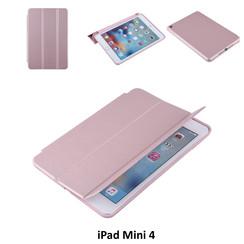 Apple iPad Mini 4 Rose Gold Book Case Tablethoes Smart case - 2 kijkstanden - Kunstleer