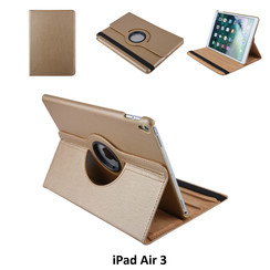 Apple iPad Air 3 Goud Book Case Tablethoes Draaibaar - 2 kijkstanden - Kunstleer
