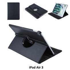 Apple iPad Air 3 Zwart Book Case Tablethoes Draaibaar - 2 kijkstanden - Kunstleer