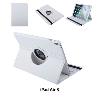 Book case Tablet Apple iPad Air 3 Rotatable White for iPad Air 3 2 Viewing Positions
