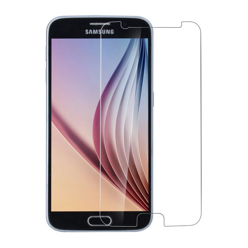 Andere merken Samsung Galaxy S6 Transparant Screenprotector Schermbescherming - Tempered Glas - Glas