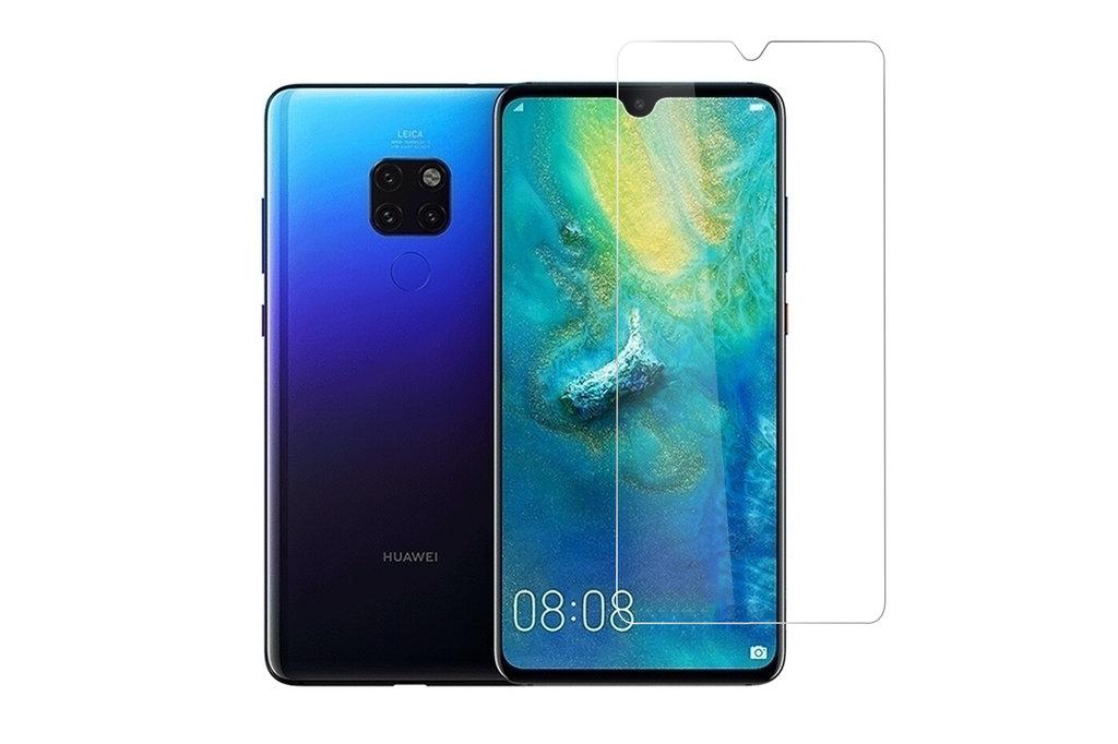 Andere merken Huawei Ascend Mate 20 Transparant Screenprotector Schermbescherming - Tempered Glas - Glas