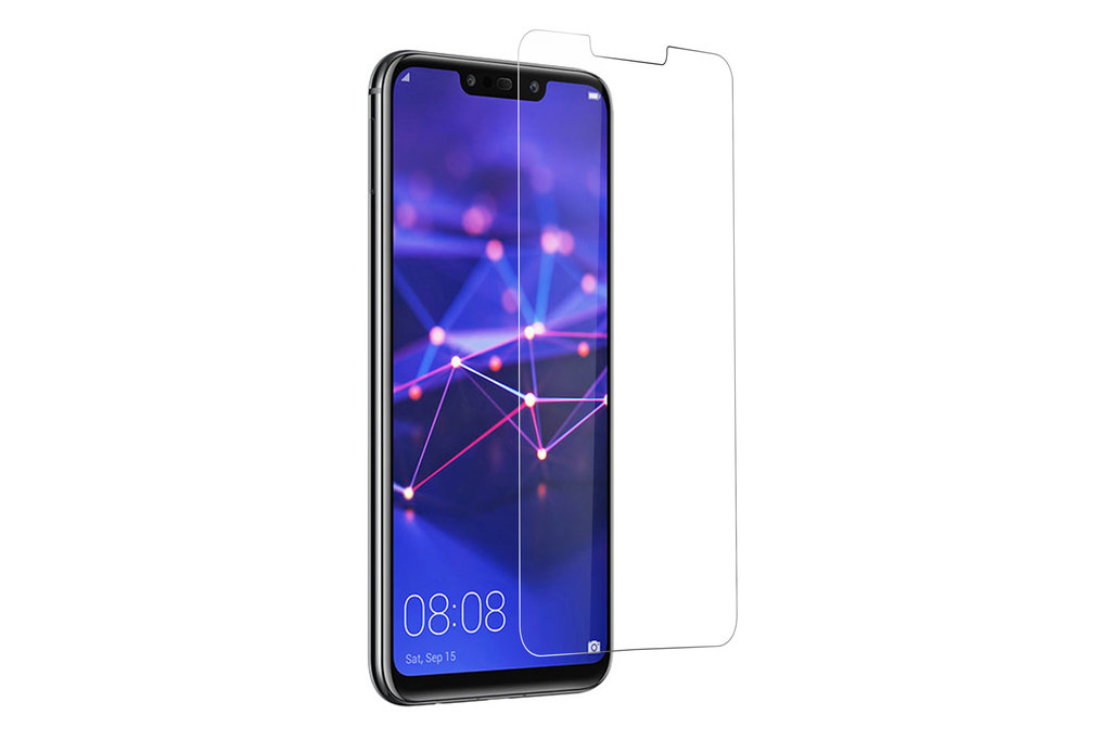 Andere merken Huawei Ascend Mate 20 Lite Transparant Screenprotector Schermbescherming - Tempered Glas - Glas