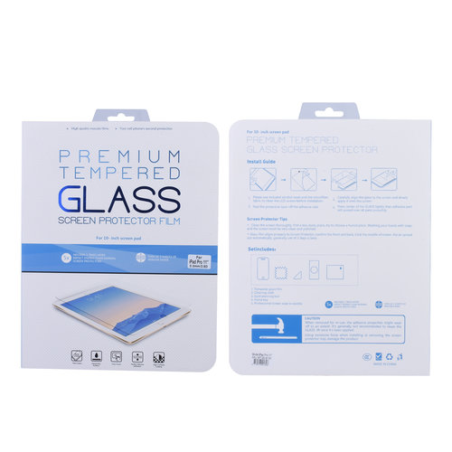 Andere merken Apple iPad Pro 11 inch Transparant Screenprotector Schermbescherming - Tempered Glas - Glas