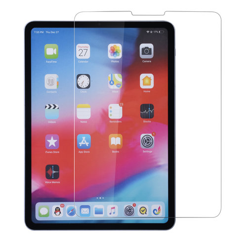 Andere merken Tablet screenprotector Apple iPad Pro 12.9 inch (2018) Screen protection Transparent for iPad Pro 12.9 inch (2018) Tempered Glas