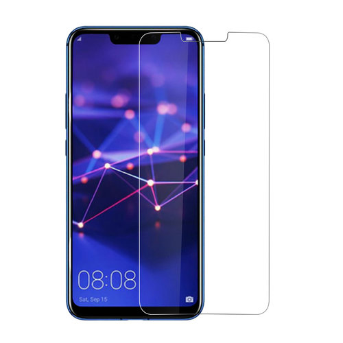 Andere merken Huawei Ascend Mate 20 Lite Transparant Screenprotector Schermbescherming - Tempered Glas - Glas