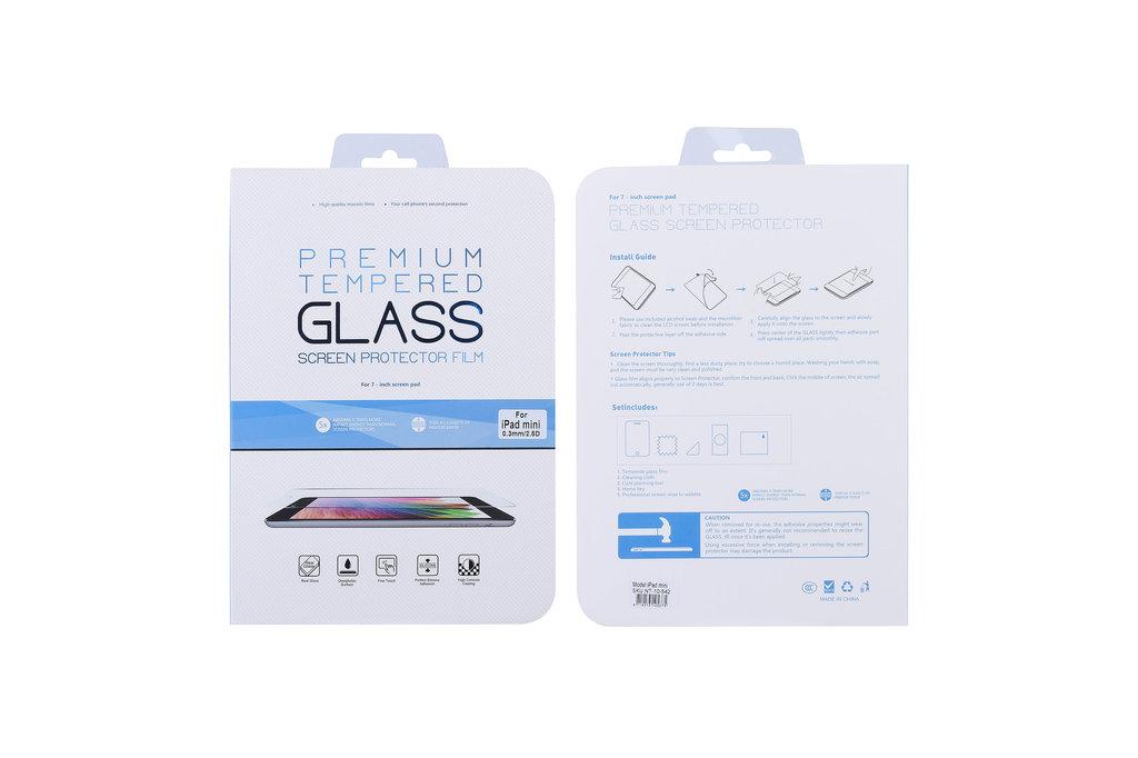 Andere merken Apple iPad mini Transparant Screenprotector Schermbescherming - Tempered Glas - Glas