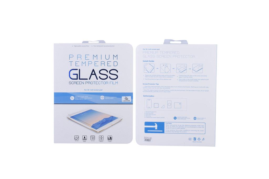Andere merken Samsung Tab A 10.1 2016 Transparant Screenprotector Schermbescherming - Tempered Glas - Glas
