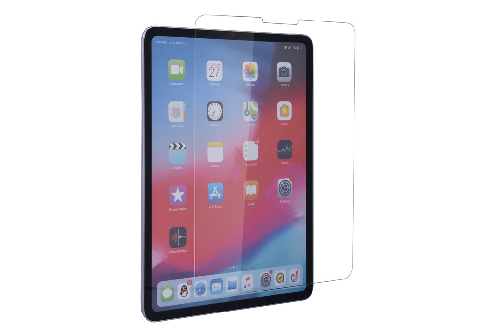Andere merken Apple iPad Pro 11 inch Transparant Screenprotector Schermbescherming - Tempered Glas - Glas