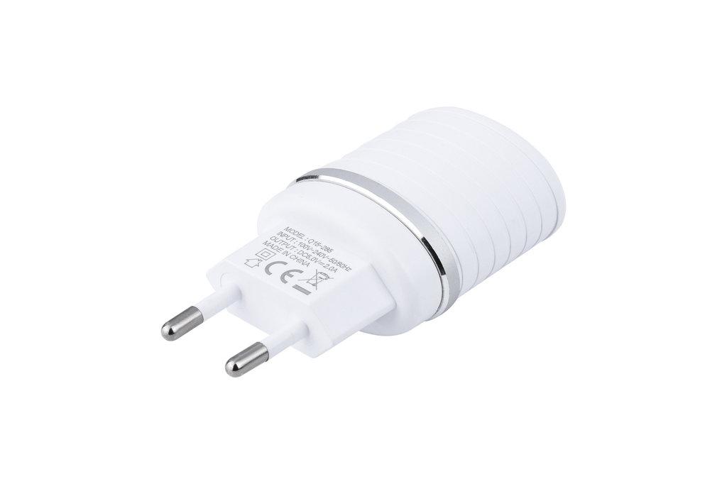 UNIQ Accessory UNIQ Accessory Dual Port 2.4A travel charger - Micro USB Wit (CE)