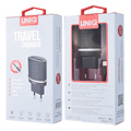 UNIQ Accessory UNIQ Accessory Dual Port 2.4A travel charger - Apple Lightning Black (CE)