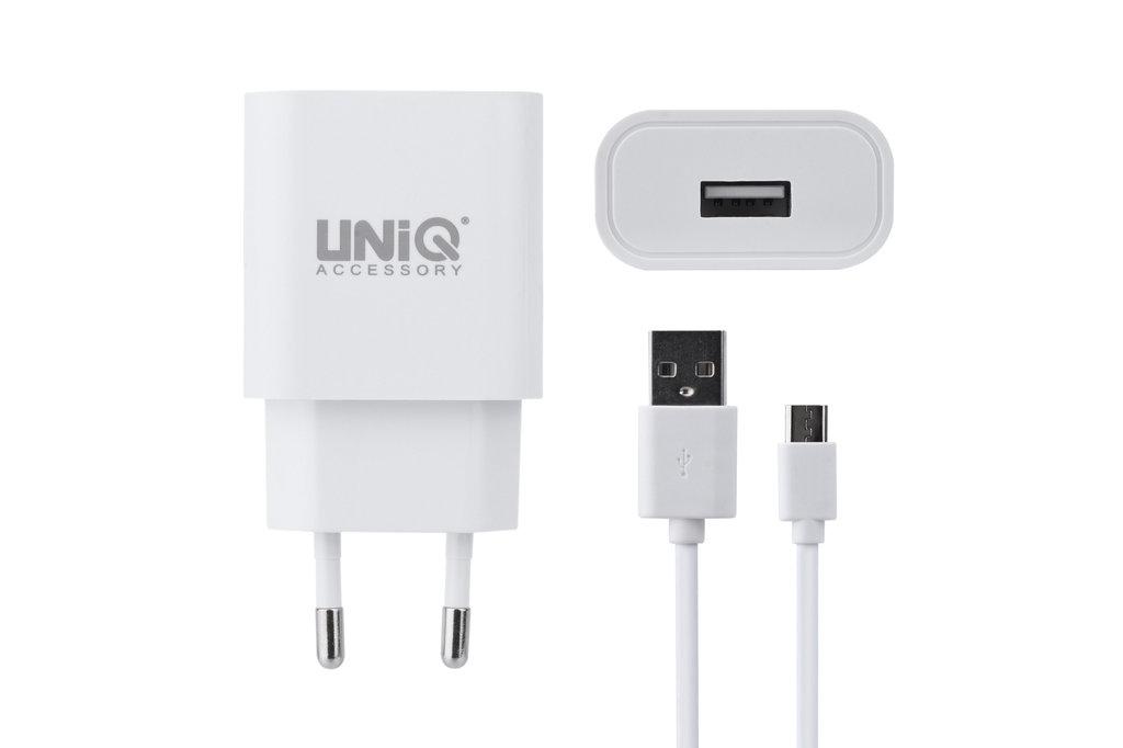 UNIQ Accessory UNIQ Accessory Qualcomm 2.0 Quick  travel charger - Micro USB White (CE)