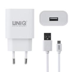 UNIQ Accessory 2.4A travel charger - USB Type-C White (CE)