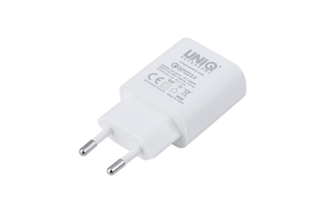 UNIQ Accessory UNIQ Accessory 2.4A travel charger - USB Type-C Wit (CE)