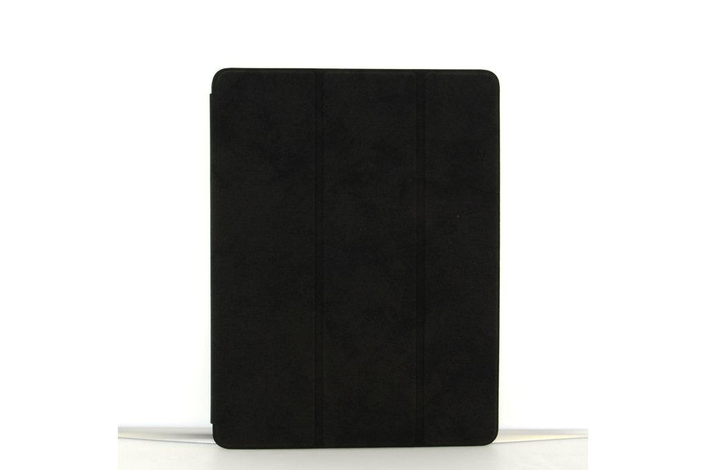 Andere merken Apple iPad 9.7 inch 2018 Zwart Book Case Tablethoes Smart Case - Marmer - Kunstleer