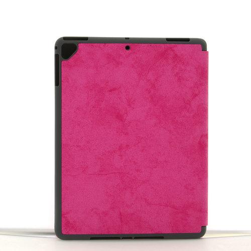 Andere merken Book case Tablet Apple iPad 9.7 inch 2018 Smart Case Hot Pink for iPad 9.7 inch 2018 Marble