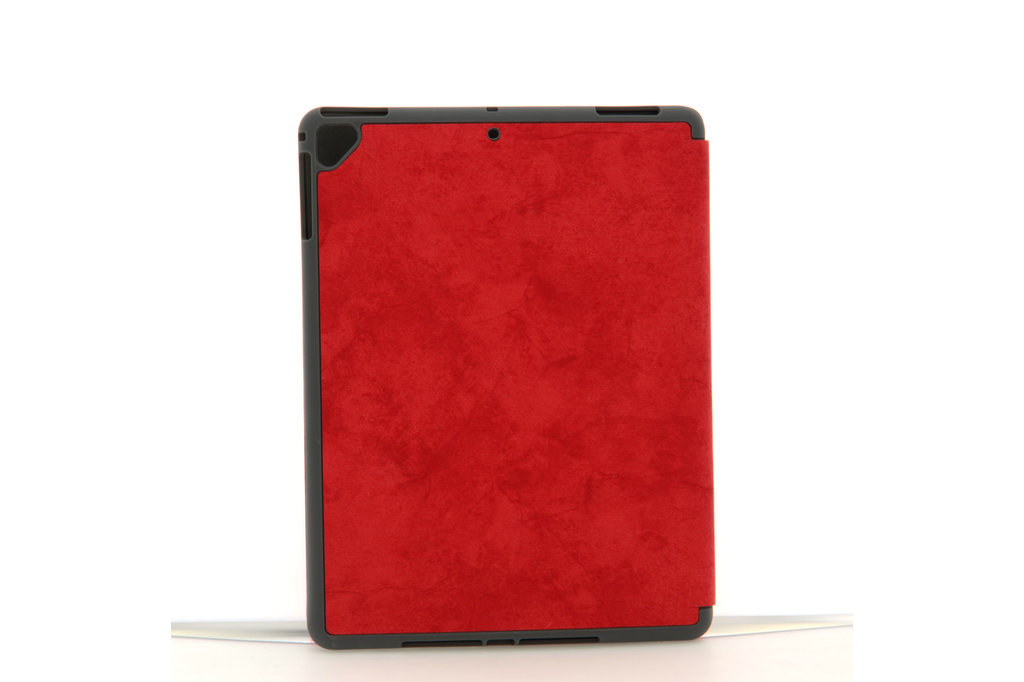 Andere merken Book case Tablet Apple iPad 9.7 inch 2018 Smart Case Red for iPad 9.7 inch 2018 Marble