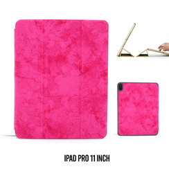 Tablet Housse Apple iPad Pro 11 inch Smart Case Hot Rose - Marbre