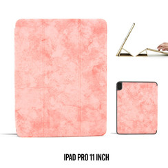 Book case Tablet Apple iPad Pro 11 inch Smart Case Pink for iPad Pro 11 inch Marble