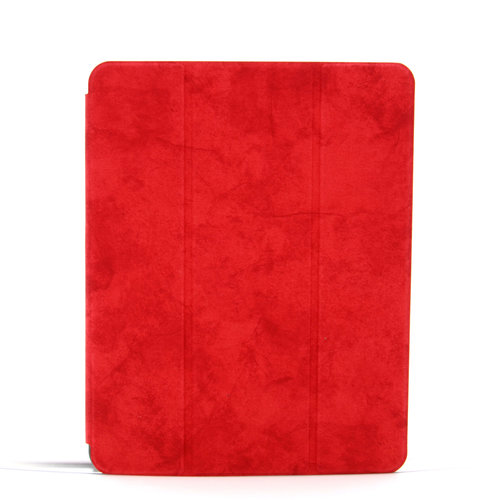 Andere merken Apple iPad Pro 11 inch Rood Book Case Tablethoes Smart Case - Marmer - Kunstleer