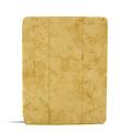 Andere merken Apple iPad Pro 11 inch Bruin Book Case Tablethoes Smart Case - Marmer - Kunstleer