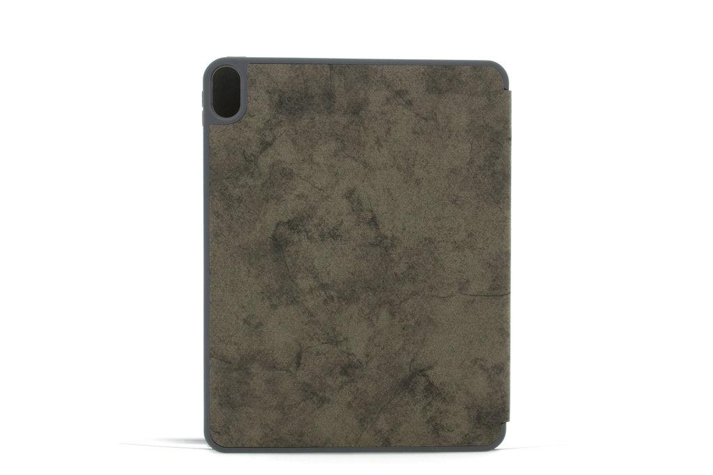 Andere merken Apple iPad Pro 11 inch Grijs Book Case Tablethoes Smart Case - Marmer - Kunstleer