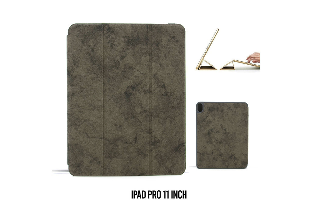 Andere merken Book case Tablet Apple iPad Pro 11 inch Smart Case Grey for iPad Pro 11 inch Marble