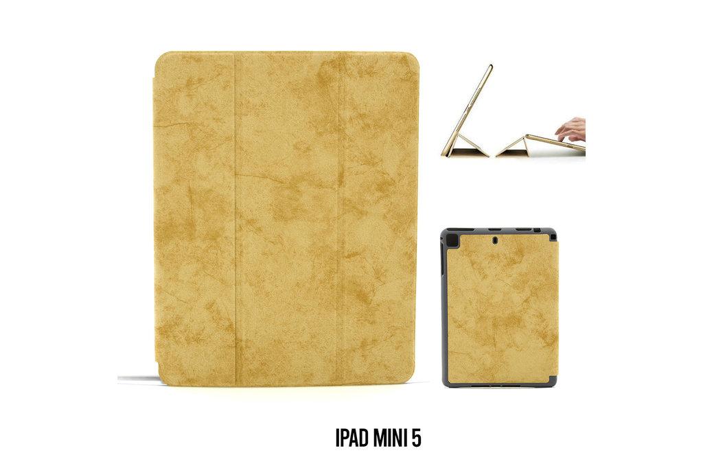 Andere merken Book case Tablet Apple iPad Mini 5 Smart Case brown for iPad Mini 5 Marble