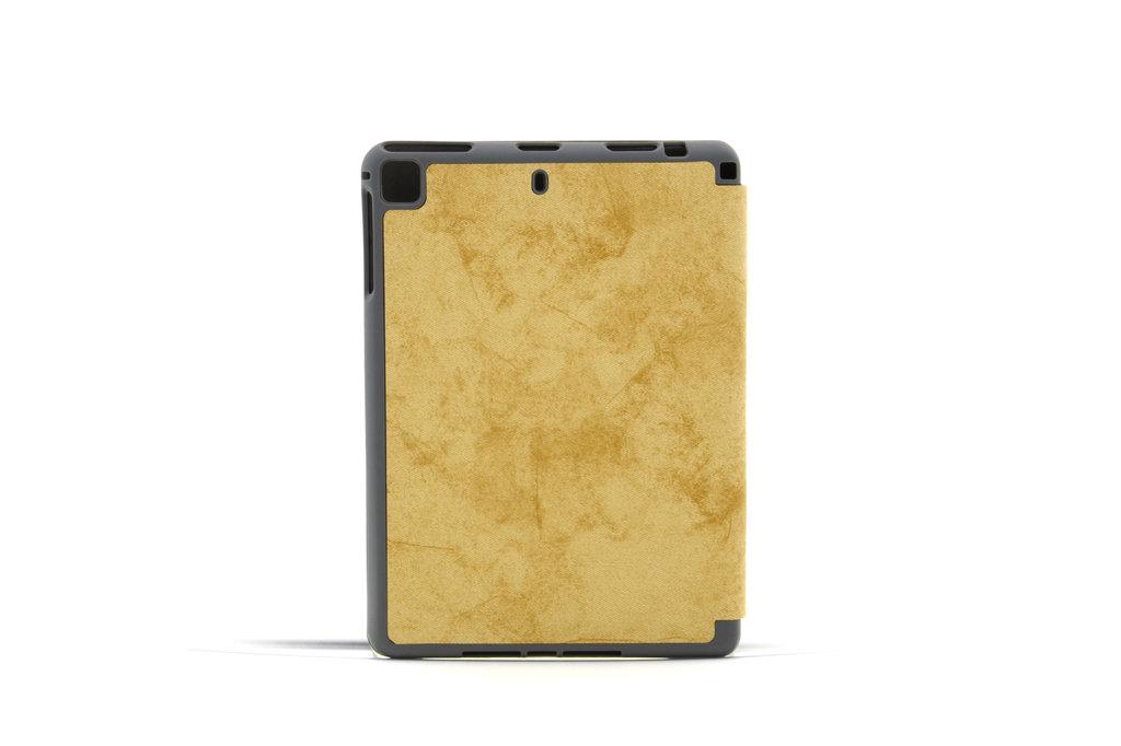 Andere merken Apple iPad Mini 5 Bruin Book Case Tablethoes Smart Case - Marmer - Kunstleer