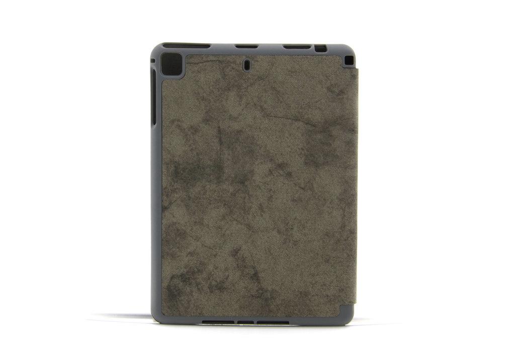 Andere merken Apple iPad Air 3 Grijs Book Case Tablethoes Smart Case - Marmer - Kunstleer
