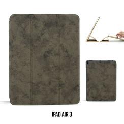 Tablet Housse Apple iPad Air 3 Smart Case Gris - Marbre