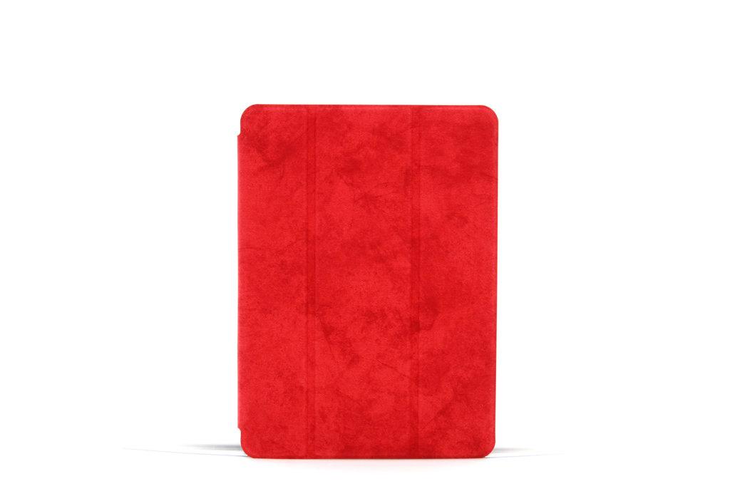 Andere merken Apple iPad Air 3 Rood Book Case Tablethoes Smart Case - Marmer - Kunstleer