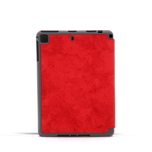 Andere merken Book case Tablet Apple iPad Air 3 Smart Case Red for iPad Air 3 Marble