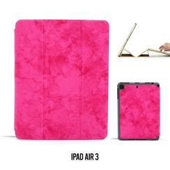 Tablet Housse Apple iPad Air 3 Smart Case Hot Rose - Marbre