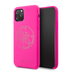 Apple iPhone 11 Pro Max Guess Back cover case Silicon Print for iPhone 11 Pro Max Logo
