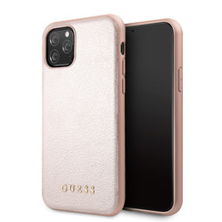 Apple iPhone 11 Pro Max Guess Back cover case Iridescent Rose Gold for iPhone 11 Pro Max original