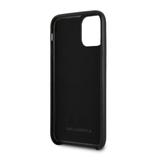 Karl Lagerfeld Apple iPhone 11 Pro Max Karl Lagerfeld Back cover case Embossed Black for iPhone 11 Pro Max Hand