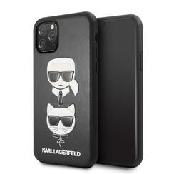 Apple iPhone 11 Pro Max Karl Lagerfeld Back cover case Choupette Black for iPhone 11 Pro Max Embossed