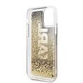 Karl Lagerfeld Apple iPhone 11 Pro Max Goud Karl Lagerfeld Backcover hoesje Glitter - Karl - KLHCN65KAGBK