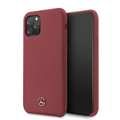 Apple iPhone 11 Pro Mercedes-Benz Back cover case Liquid Red for iPhone 11 Pro Microfiber