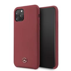 Apple iPhone 11 Pro Mercedes-Benz Back cover coque Liquid Rouge - Microfiber