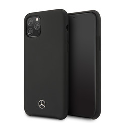 Apple iPhone 11 Pro Mercedes-Benz Back cover case Liquid Black for iPhone 11 Pro Max Microfiber