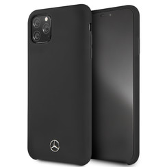 Apple iPhone 11 Pro Max Mercedes-Benz Back cover case Liquid Black for iPhone 11 Pro Max Microfiber